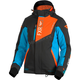 Women's Black/Aqua/Electric Tangerine Renegade Jacket - 180219-5035-14