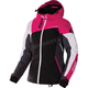 Women's Black/Charcoal/Fuchsia/White Tri Vertical Edge Jacket