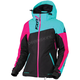 Women's Black/Mint/Electric Pink Vertical Edge Jacket