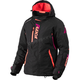 Women's Black/Fuchsia/Electric Tangerine Vertical Pro Jacket