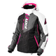 Women's Black/Charcoal/Fuchsia/White Tri Vertical Pro Jacket