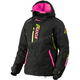 Women's Black/Electric Pink/Hi-Vis Vertical Pro Jacket
