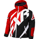 Youth Red/Black/White Weave CX Jacket