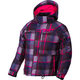 Youth Fuchsia/Wineberry Plaid Fresh Jacket