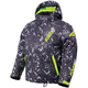 Youth Char White Track/Lime Squadron Jacket