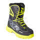 Black/Hi-Vis X-Cross Lace Boots