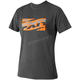 Charcoal/Orange Throttle Tech T-Shirt