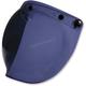 Smoke Flip-Up Three-Snap Bubble Shield - 0130-0750