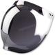 Mirror Flip-Up Three-Snap Bubble Shield - 0130-0752