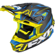 Black/Blue/Hi-Vis Blade Carbon Vertical Helmet