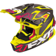 Black/Electric Pink/Hi-Vis Blade Carbon Vertical Helmet