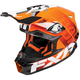 Orange Blade Race Division Helmet