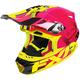 Electric Pink/Hi-vis Blade Race Division Helmet