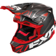 Black/Red Blade Vertical Helmet