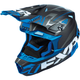 Black/Blue Blade Vertical Helmet