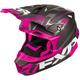 Black/Fuchsia Blade Vertical Helmet