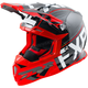 Black/Red/White Boost Clutch Helmet