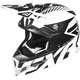 Black/White Boost CX Prime Helmet
