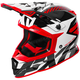Red/White/Black Boost CX Prime Helmet