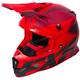 Maroon/Nuke Red/Black Boost CX Prime Helmet