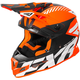 Orange/Black/White Boost CX Prime Helmet