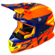Orange/Navy/Hi-Vis Boost CX Prime Helmet