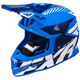 Blue/Navy/White Boost CX Prime Helmet