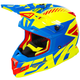 Hi-Vis/Blue/Red Boost CX Prime Helmet