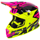 Hi-Vis/Electric Pink/Black Boost CX Prime Helmet