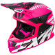 Electric Pink/Black/White Boost CX Prime Helmet