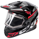 Black/Red/Charcoal FX-1 Team Helmet w/Electric Shield