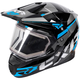 Black/Blue/Charcoal FX-1 Team Helmet w/Electric Shield
