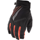 Black/Orange Title Gloves
