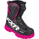 Women's Black/Fuchsia X-Cross BOA Boots