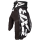 Black/White Cold Cross Race Adjustable Glove