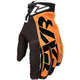 Orange/Black Cold Cross Race Adjustable Glove