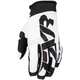 White/Black Cold Cross Race Pursuit Slip-On Glove