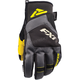 Black/Hi-Vis Transfer Short Cuff Glove