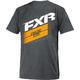 Charcoal Heather/Orange Boost T-Shirt