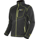 Charcoal Heather /Hi-Vis Elevation Tech Zip Up