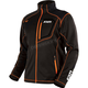 Black/Orange Elevation Tech Zip Up