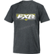 Charcoal Heather/Hi-Vis Premium T-Shirt