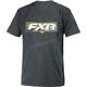 Charcoal Heather/Hi-Vis Premium T-Shirt