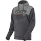 Charcoal Heather/Gray Heather Pursuit Tech Pullover Hoody