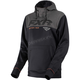 Black/Charcoal Heather Pursuit Tech Pullover Hoody
