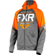 Charcoal Heather/Orange Ride Tech Hoody