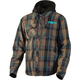 Brown/Blue Timber Plaid Insulated Jacket