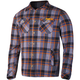 Charcoal/Orange Timber Plaid Shirt
