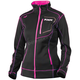Women's Black/Fuchsia Elevation Tech Zip-Up