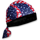 Wavy American Flag Vented Sport Flydanna - ZVS265